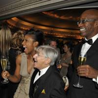 Edwin Moses, Denise Lewis and Willie Carson