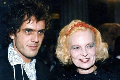 Andre Kronthaler and Vivienne Westwood