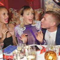 Adwoa Aboah, Edie Campbell and Felix Cooper