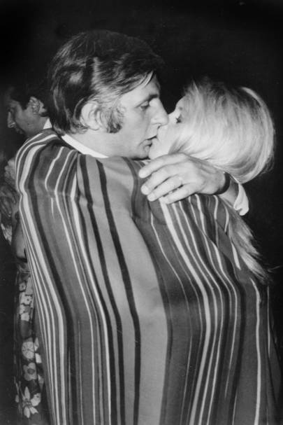 Gunter Sachs and Bridgette Bardot