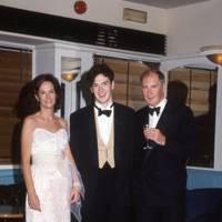 Lady Osborne, George Osborne and Sir Peter Osborne