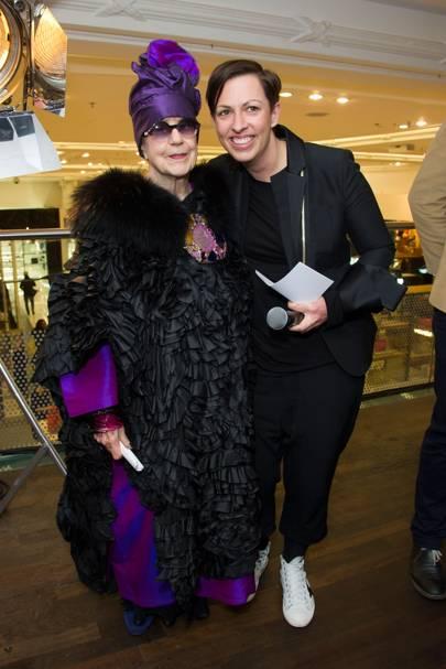 Molly Parkin and Linda Hewson