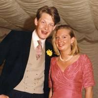 The Hon Nicholas Napier and Lucinda Ward