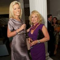 Natalie Coyle and Elaine Paige