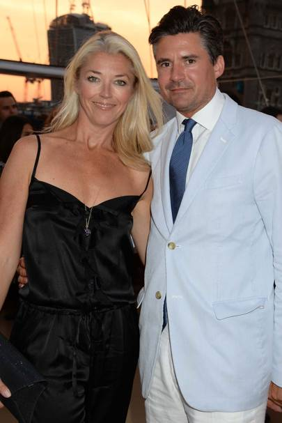 Tamara Beckwith and Edward Taylor