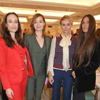 Elisabeth Dana, Bogusia Prusik, Jo Manoukian and Elizabeth Saltzman