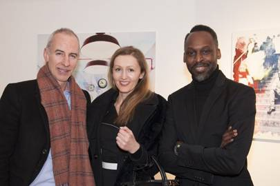 Vincent Parkin, Anita Warszawska and Simon Frederick