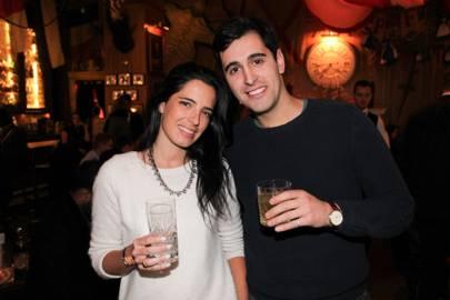 Leah Benrimoj and Danilo Tersigni