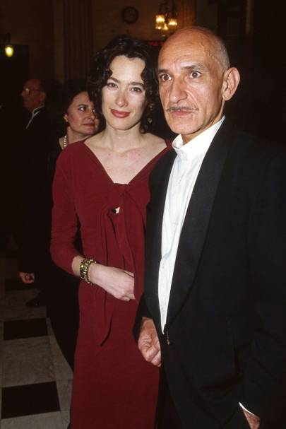 Kate Townsend and Ben Kingsley