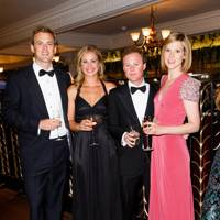 Freddie Andrewes, Holly Branson, Guy Pelly and Elizabeth Pelly