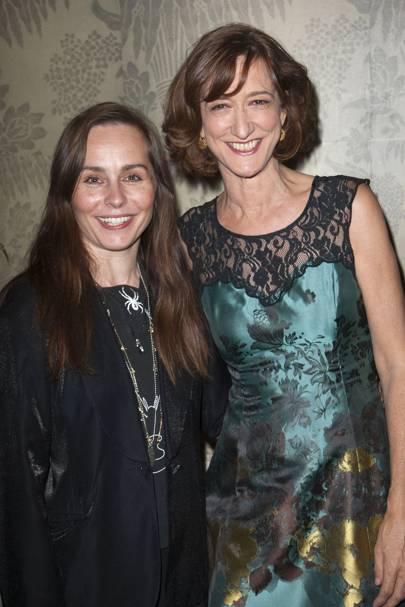 Tara Fitzgerald and Haydn Gwynne