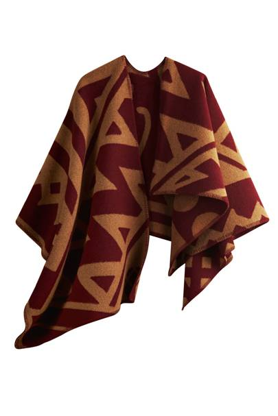 Wool blanket, £1,795, by Burberry