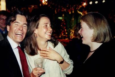 The Hon David Newell, Mrs David Newall and Selina Fitzherbert