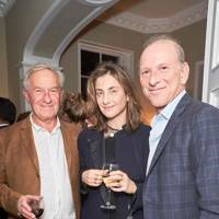 Simon Schama, Alice Sherwood and William Sieghart