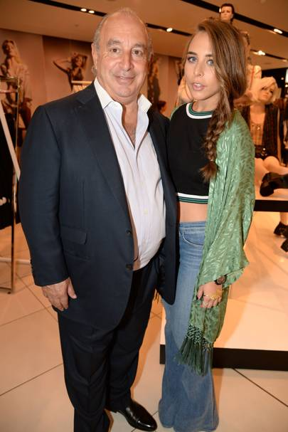 Sir Philip Green and Chloe Green