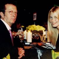 Eric Clapton and Claudia Schiffer
