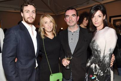 Aaron Taylor-Johnson, Sam Taylor-Johnson, Simon Aboud and Mary McCartney