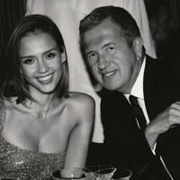 Jessica Alba and Mario Testino