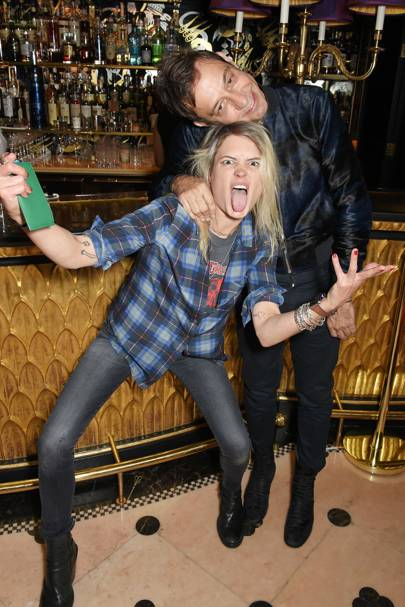 Alison Mosshart and Jamie Hince