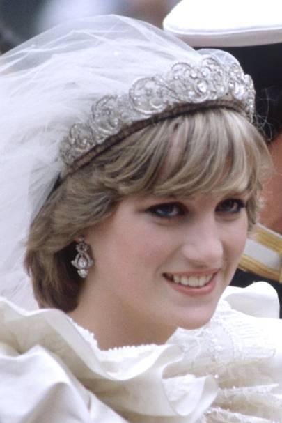 princess s diana s wedding day tiara details tatler princess s diana s wedding day tiara