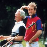 Peter Scott and Prince William