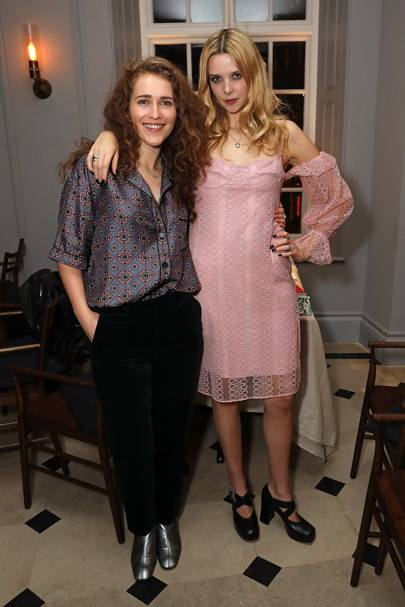 Rae Morris and Greta Bellamacia