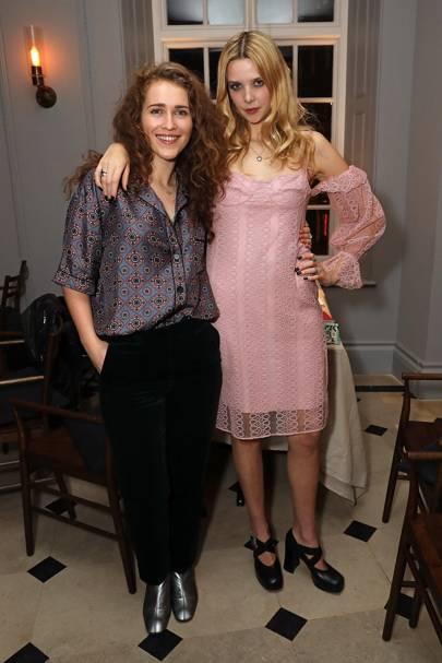 Rae Morris and Greta Bellamacia