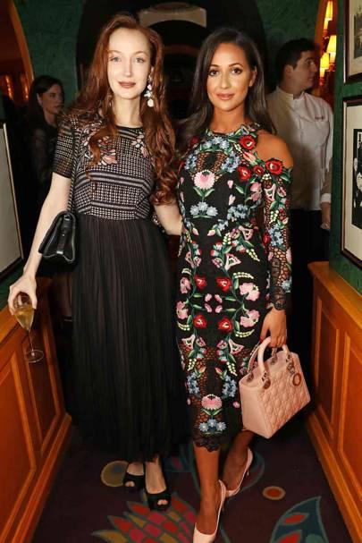 Olivia Inge and Roxie Nafousi