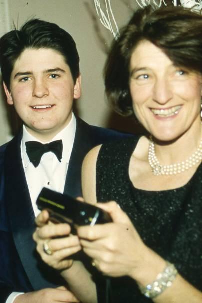 The Hon Hugo Palmer and Lady Palmer