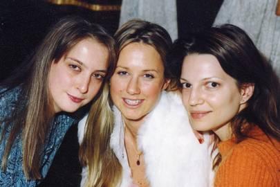 Daisy de Villeneuve, Alice Brudenell-Bruce and Zoe Manzi