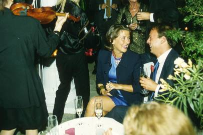 Princess Nicholas Guedroïtz and Nicolo Castellini