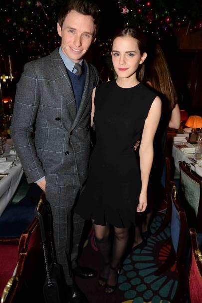 Eddie Redmayne and Emma Watson
