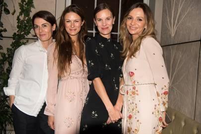 Fiona Ennis, Hannah Teare, Jo Ellison and Olga Vilshenko