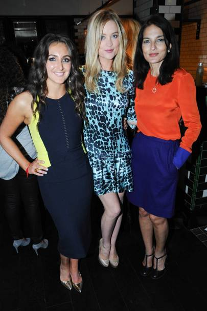 Natasha Corrett, Laura Whitmore and Yasmin Mills