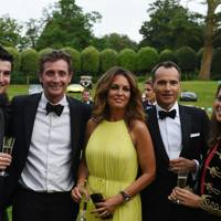 George Bownes, Nick English, Catherine English, Marcus Barnett and Lotte Lugg