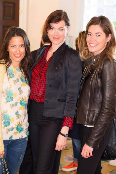 Patricia D Haimes, Jasmine Guinness and Sophie Stanbury