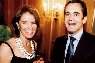 Veronica Wadley and Roland Rudd