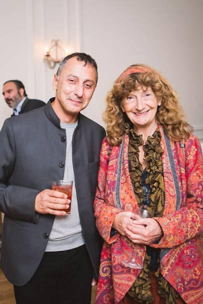 Zahed Tajeddin and Ianthe Ruthven
