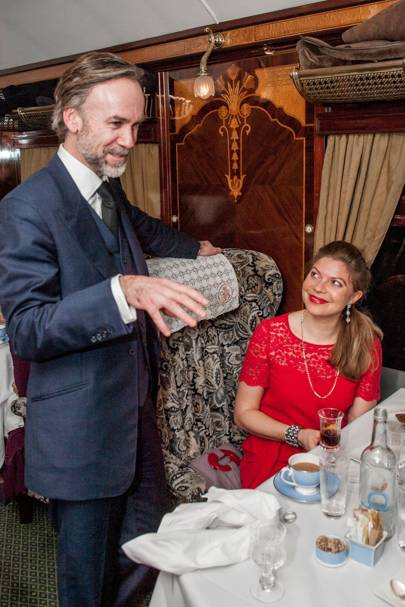 Marcus Wareing and Anna Hart