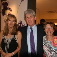 Dido Sheffield, Christopher Fordham and Daria Coleridge
