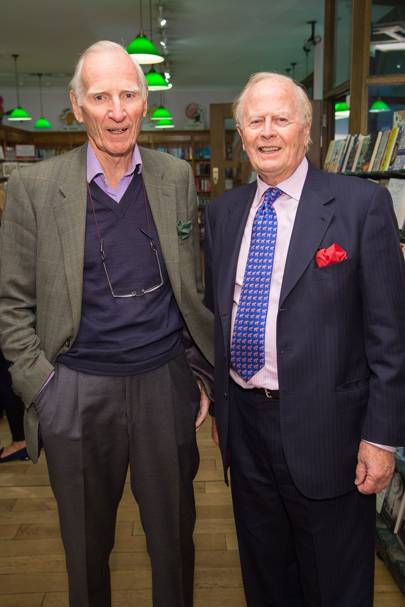 Robin Benson and Sir John Hannam