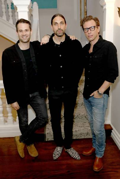 Jens Grede, Ben Gorham and Erik Torstensson