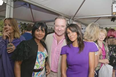 Jasmin Dhali, Neil Pearson and Jackie St Clair