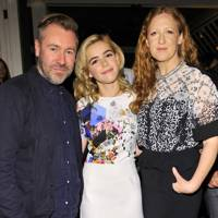 Justin Thorton, Kiernan Shipka and Then Thorton