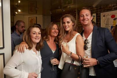 Sophie Williams, Vicki Maidens, Kate O'Bryan and Freddie Maidens