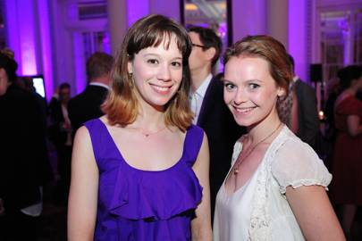 Chloe Pirrie and Tori Hart
