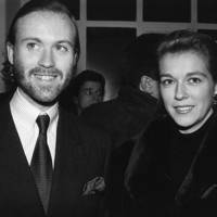 Prince Pierre d'Arenberg and Marie-Christine de Laubarede