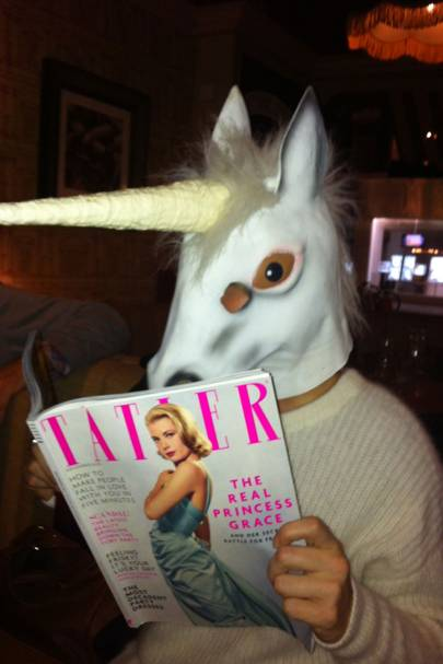 Vampire Unicorn in the pub