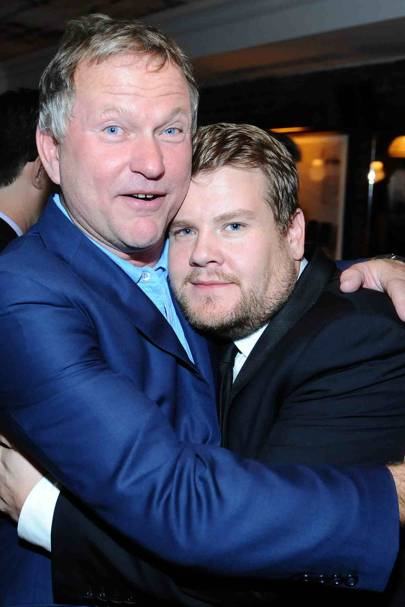 Nick Jones and James Corden