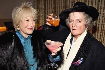 Tory Lawrence and Maggi Hambling